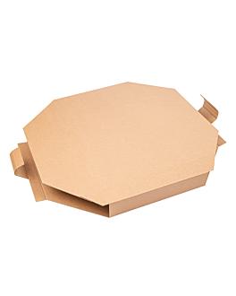 scatola per paella 375 g/m2 51x51x5,2 cm bianco cartone (100 unitÀ)