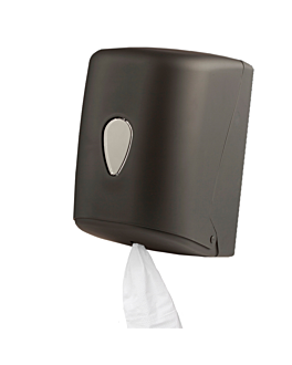 handtowel dispenser 'maxi barril' 20,7x22x32,1 cm black abs (1 unit)