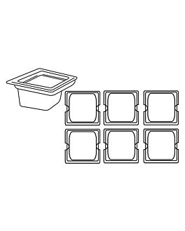 behÄlter gastronorm 1/6 1,9 l 17,6x16,2x15 cm transparent polykarbonat (1 einheit)