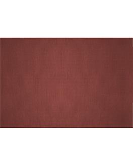 nappes pliage m 48 g/m2 80x120 cm bordeaux cellulose (200 unitÉ)