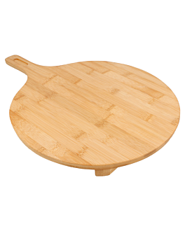 pizza server Ø 29x2,5 cm natural bamboo (1 unit)