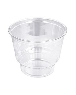 contenitore per gelati 240 ml Ø9,5x7 cm trasparente pet (1000 unitÀ)