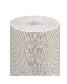 """tÚ y yo"" pre 120cm (20 ser.) 'like linen' 70 g/m2 0,40x24 m gris spunlace (6 unid.)"