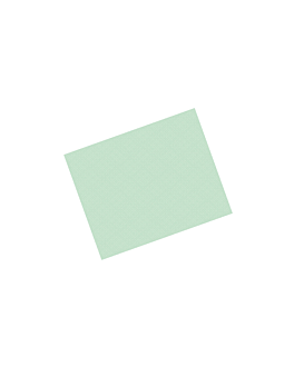 tablecloths 48 gsm 60x60 cm sea green cellulose (500 unit)