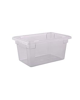 contenitore alimenti 18 l 45,6x30,2x22,9 cm trasparente policarbonato (1 unitÀ)
