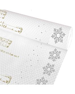nappe en rouleau 'new snow' 48 g/m2 1,20 x 50 m blanc cellulose (1 unitÉ)