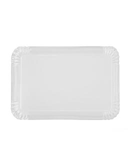 plateaux pÂtisserie - moyens 42x28 cm blanc carton (100 unitÉ)