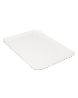 vassoi pasticceria - medi 42x28 cm bianco cartone (100 unitÀ)