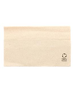 serviettes ecolabel 1 pli 'master servis' 23 g/m2 33x33 cm naturel ouate recyclÉe (4800 unitÉ)