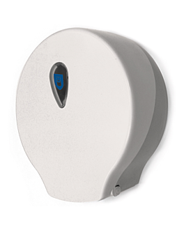 toilet dispenser 'maxi jumbo' 30x12,5x32,5 cm white abs (1 unit)