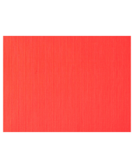 table mats 45 gsm 30x40 cm red recycled (2000 unit)