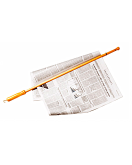 newspapers stick 81 cm natural wood (1 unit)