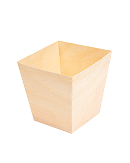 pine bark mini container 5,5x5,5x5,5 cm natural wood (2000 unit)