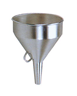 funnel Ø 1,9/14 cm silver stainless steel (2 unit)