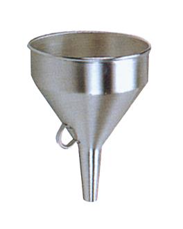 entonnoir Ø 1,9/14 cm argente inox (2 unitÉ)
