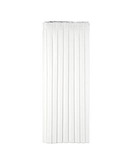 table skirtings 72x400 cm white airlaid (5 unit)