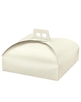 boÎtes pour tartes 43x43x7 cm blanc carton (60 unitÉ)