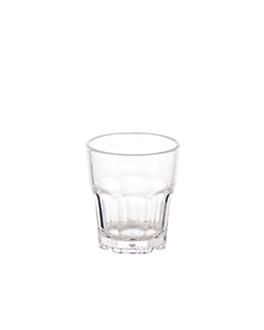 stackable cups 35 ml Ø 4,2x4,8 cm clear polycarbonate (24 unit)