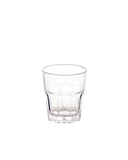bicchieri impilabili 35 ml Ø 4,2x4,8 cm trasparente policarbonato (24 unitÀ)