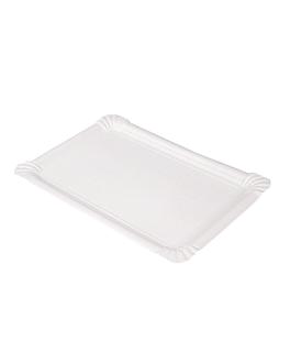 vassoi pasticceria - medi 30x21 cm bianco cartone (125 unitÀ)