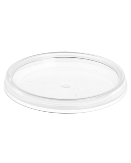 lids for sealable containers codes 220.82/220.83 30/50 ml Ø 4,8 clear pp (2700 unit)