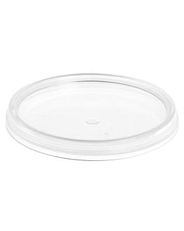 coperchi per contenitori ermetico refs. 220.82/220.83 30/50 ml Ø 4,8 trasparente pp (2700 unitÀ)