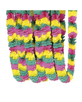 collier hawaien Ø 4x105 cm assorti plastique (144 unitÉ)