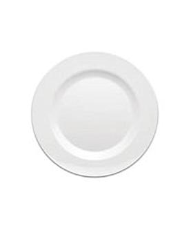 assiettes Ø 23 cm blanc melanine (48 unitÉ)