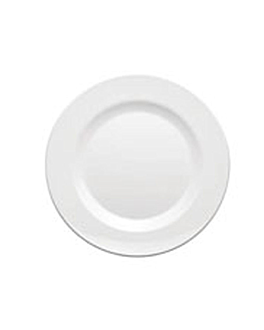 plates Ø 23 cm white melamine (48 unit)