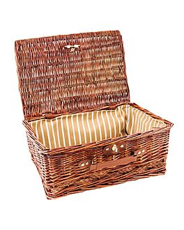 cesta para lotes 32x44x19 cm marrÓn mimbre (10 unid.)