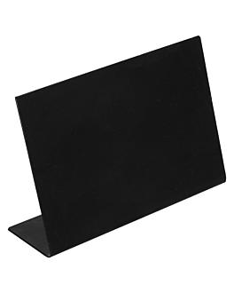pizarras de sobremesa 10,5x7,3 cm negro hierro (6 unid.)