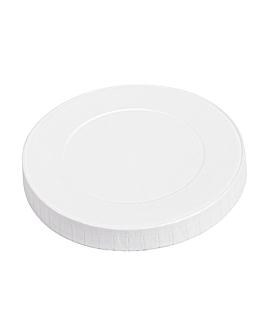 couvercles pour gobelets 280 g/m2 + pe Ø 8 cm blanc carton (1000 unitÉ)