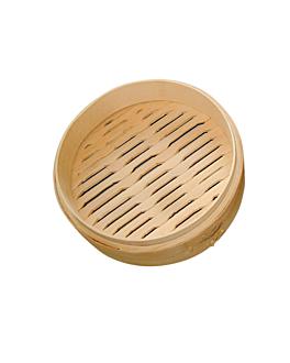 behÄlter maxi dampfgarer Ø 20x6 cm natur bambus (4 einheit)