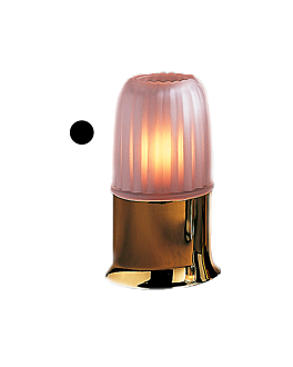 """lampshade """"casual lamps"""" Ø 7,8x10 cm smoked glass (1 unit)"""