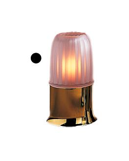 "pantalla ""casual lamps"" Ø 7,8x10 cm glaseado cristal (1 unid.)"