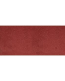 """tÊte À tÊte"" folded 1/2 'spunbond' 60 gsm 40x100 cm burgundy pp (400 unit)"
