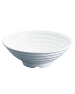 boles Ø 29,2x10 cm blanco melamina (12 unid.)
