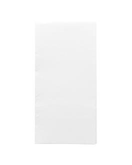 serviettes ecolabel p. 1/8 'double point' 18 g/m2 40x40 cm blanc ouate (1200 unitÉ)
