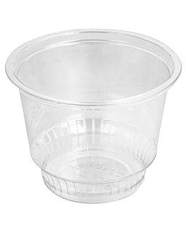 pots À glace 360 ml Ø9,8x7,9 cm transparent pet (1000 unitÉ)