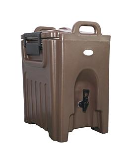 distributeur boissons isothermique 40 l 50x41,5x62,5 cm marron plastique (1 unitÉ)