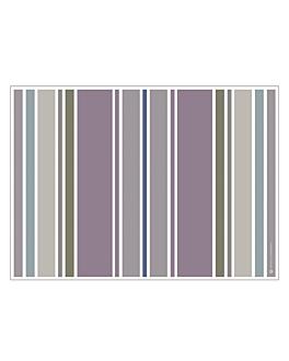 tovagliette offset 'stripes' 70 g/m2 30x42 cm quatricomia carta (2000 unitÀ)
