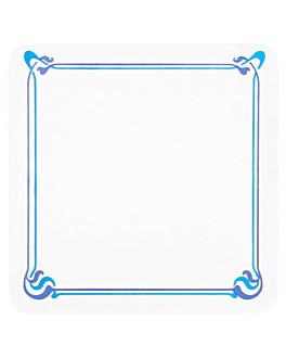 bases para copos 'maxim' 210 g/m2 8,5x8,5 cm branco cartolina (6000 unidade)