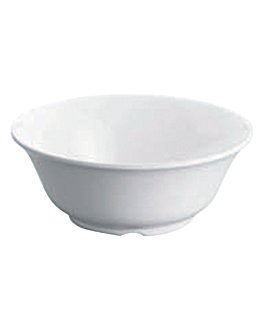 boles Ø 25,4x10 cm blanco melamina (24 unid.)