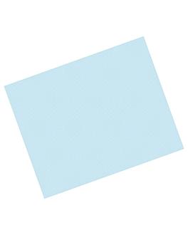 manteles en hojas 48 g/m2 70x110 cm azul celeste celulosa (500 unid.)