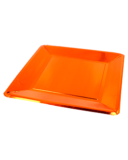 square plates 405 g/m2 25x25 cm copper cardboard (200 unit)