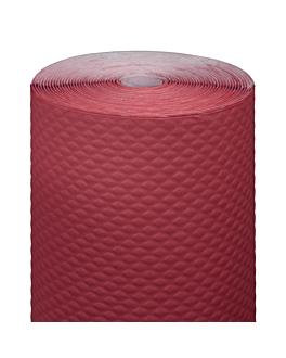 banquet roll 48 gsm 1,20x100 m burgundy cellulose (4 unit)