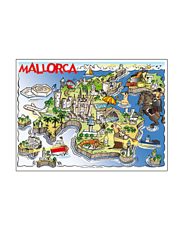 """sets de table offset """"mallorca"""" 70 g/m2 31x43 cm quadrichromie litos (2000 unitÉ)"""