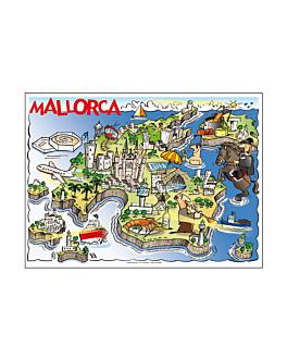 "mantelines offset ""mallorca"" 70 g/m2 31x43 cm cuatricromÍa litos (2000 unid.)"