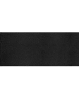 """tÊte À tÊte"" 1/2 folded 55 gsm 40x120 cm black airlaid (400 unit)"