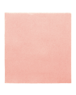 serviettes ecolabel 'double point' 18 g/m2 33x33 cm rose ouate (1200 unitÉ)